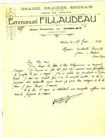CHOLET. - Emmanuel FILLAUDEAU.  GRAINS, GRAINES, ENGRAIS - Agriculture
