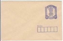 1.00r Envelope, India Postal Stationery, PSE - Buste