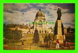 MONTRÉAL, QUÉBEC - ORATOIRE SAINT-JOSEPH DU MONT-ROYAL - LA BASILIQUE ET LES TERRASSES - ANIMÉE - - Montreal