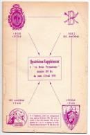 4ème Supplément Revue Militaire Prytanéenne, Avril 1970, 32 Pages, Attention Gribouillage Crayon Sur Plusieurs Pages - Catalogs