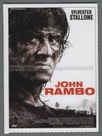 148 Cinema 2007 JOHN RAMBO SYLVESTER STALLONE Ciak - Affiches Sur Carte
