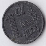 @Y@   Nederland  1 Cent  1943  Zink     (2599) - [ 3] 1815-… : Kingdom Of The Netherlands