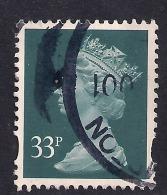 GB 1988 QE2 32p Greenish Blue Machin SG X983..( R471 ) - 1952-.... (Elisabeth II.)