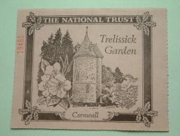 TRELISSICK GARDEN Cornwall - The National Trust N° 19451 Membership ! - Actions & Titres