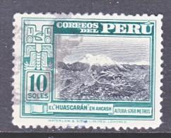 Peru  433  (o)  Waterlow  Print  1949-51  Issue - Peru