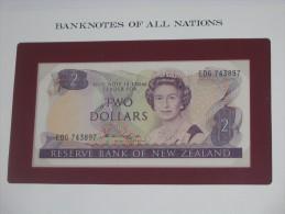 2 Two  Dollars - NOUVELLE - ZELANDE - Reserve Bank Of New Zealand - Billet Neuf - UNC  !!! **** ACHAT IMMEDIAT *** - Nouvelle-Zélande