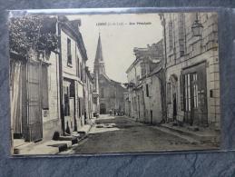 37 Lerné Belle CP Ancienne Animée  ; Ref968 - France