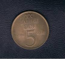 ALEMANIA - GERMANY -  REP. DEM.  5 Mark 1969 - [ 6] 1949-1990 : RDA - Rep. Dem. Alemana