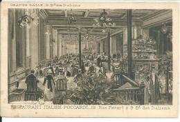 Paris Restaurant Italien Poccardi 12 Rue Favart - France