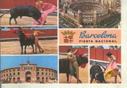 Postal 014750: Vistas Varias De La Plaza De Toros La Monumental De Barcelona - Barcelona