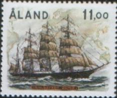 Aland 1988 Navigazione A Vela Ad Aland  1v  ** MNH - Aland
