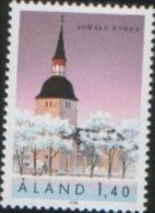 Aland 1988 Jomala Church La Chiesa Di Jomala 1v  Complete Set ** MNH - Aland