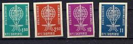Albanie Y&T 569/72 Mi 650/53 ** - Albanie