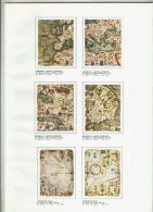 El Arte A Su Alcance Lamina 13: Portulanos: Abraham Y Jafuda Cresques (3,4,5 Y 6 - Otras Colecciones