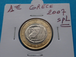 1  EURO  GRECE  2007 Spl - Greece