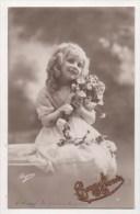 CPA Fantaisie  - Enfant - Fillette - Portrait - Portraits