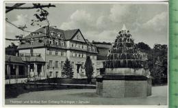 Bad Colberg-Sprudel Verlag:R. Schleifenheimer, Colberg POSTKARTE Erhaltung: I-II, Rücks. Beschrieben  Karte Wird In Klar - Bad Colberg-Heldberg