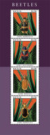 MINT N.H NEVIS # 1720  IGPC 1216 SH :  STAMPS OF BEETLES - St.Kitts And Nevis ( 1983-...)