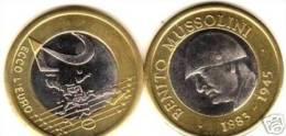 MUSSOLINI - 2 Euro B. Mussolini Unc Bimetalic Coin - Sin Clasificación