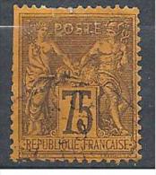 SAGE  N° 99  OBL COTE 35€ - 1876-1898 Sage (Type II)