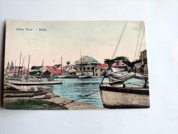 Carte Postale Ancienne : BELIZE : Belize River - Belize