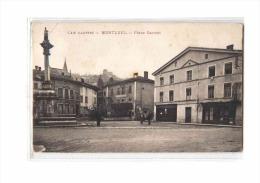 01 MONTLUEL Place Carnot, Société Générale, Ed ?, Ain Illustré, 1915 - Montluel