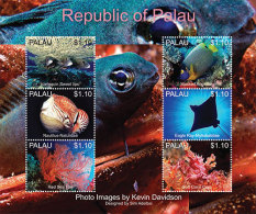 MINT N.H PALAU 1169 # IGPC 1315 SH :  STAMPS OF MARINE LIFE ; FISH - Palau
