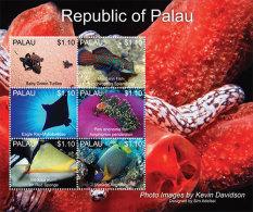 MINT N.H PALAU 1168 # IGPC 1318 SH :  STAMPS OF MARINE LIFE ; FISH - Palau