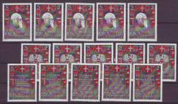 1203j: Österreich 1968, Wiederauferstehung Der Republik Nach WW II, Dr. Renner, 5 Sätze ** - Briefmarken