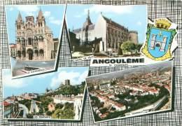 2 CPSM      Angouleme  La Grande Garenne , Multi Vues      P  671 - Angouleme