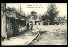 Cpa Du 55  Verdun  Avenue Garibaldi , Au Fond à Droite La Gare De L' Est  HRT6 - Verdun