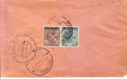 22.06.1938 Commercial Cover From Bogale, Burma To Kallal, India Via Sembanur - Myanmar (Burma 1948-...)
