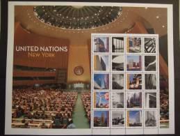 U.N. 2013 NEW YORK  GREETINGS FROM NEW YORK    MNH **  (102GROEN14-1168/015) - Unused Stamps