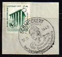 DR 1939, Michel #  692 O Auf Papier Mirt Schönem Sonderstempüel - Allemagne