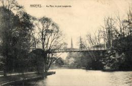 BELGIQUE - ANVERS - ANTWERPEN - Au Parc, Le Pont Suspendu. - Antwerpen