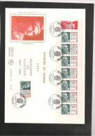 GRANDE ENVELOPPE 1ER JOUR - JOURNEE DU TIMBRE  4 Mars 1995 - FDC