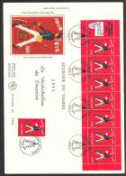 GRANDE ENVELOPPE 1ER JOUR - JOURNEE DU TIMBRE  6 MARS 1993 - FDC