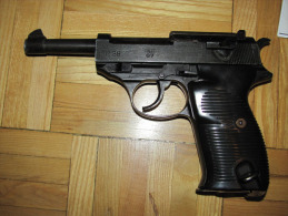 Walther P-38 Military Model MGC Japan Product From 1970s - Decorative Weapons