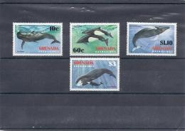 131008962  GRENADA   GRENADINES  YVERT    Nº   472/75  **/MNH - Grenada (1974-...)