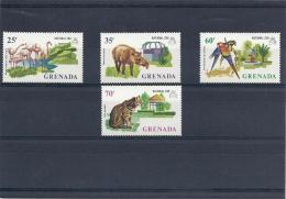 131008963  GRENADA   GRENADINES  YVERT    Nº   459/62  **/MNH - Grenada (1974-...)