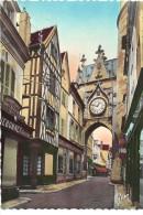 2 CPM AUXERRE-  Eglise St Pierre - Porte De L'Horloge - Auxerre