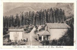 TOSCANA-FIRENZE- VALLOMBROSA VEDUTA ANNI 30 CAPPELLA DI S.Giov. Gualberto - Italia
