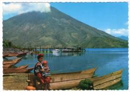 GUATEMALA - SKIRTS OF SAN PEDRO VOLCANO AND BAY OF SANTIAGO ATITLAN - Guatemala