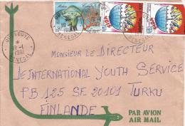 Senegal 1991 Oussouye Jelly Fish AIDS SIDA Cover - Senegal (1960-...)