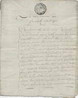 925/21 - Document Fiscal Devant Notaire Dewaele GAND 1797 - 12 Pages , 6 Empreintes Fiscales De 25 Centimes - 1794-1814 (French Period)