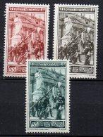 1950 Vaticano Guardia Palatina 140-42 Integri MNH** - Unused Stamps