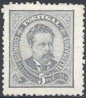 Louis Ier - 5 R. Gris Neuf TB - 1862-1884 : D.Luiz I