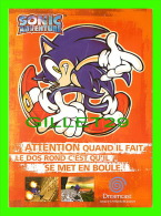PUBLICITÉ - ADVERTISING - SONIC ADVENTURE - DREAMCAST DE SEGA ENTERPRISES LTD, 1999  - - Werbepostkarten