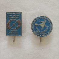 Badge / Pin (Gliding) - Yugoslavia Subotica European Women Championship 1985 - Badges
