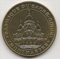 Médaille Basilique Du Sacré-Coeur  à Montmartre   - 2004  - Neuve - Monnaie De Paris - Monnaie De Paris